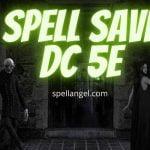 spell save dc 5e