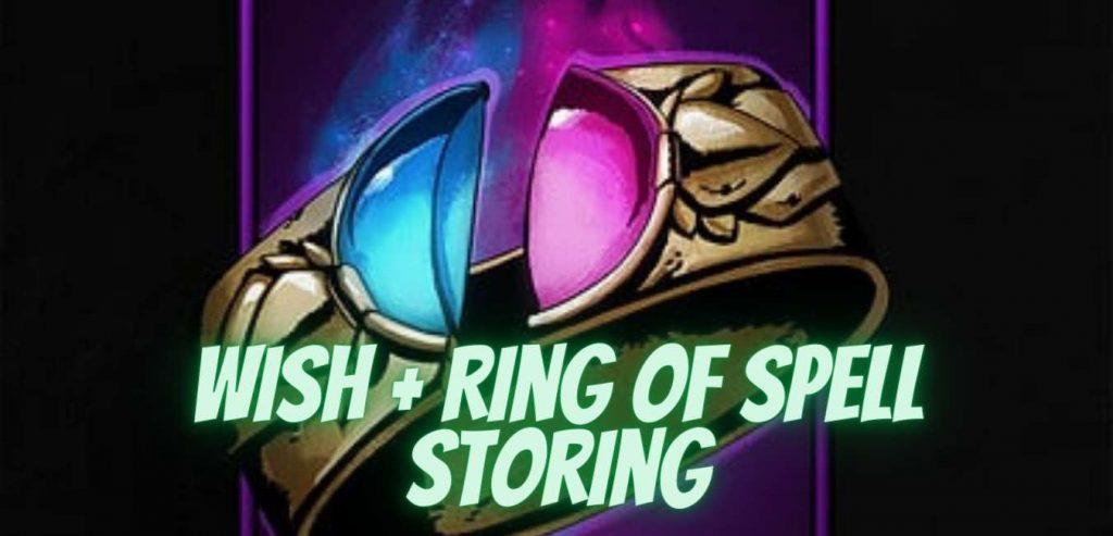 ring of spell storing