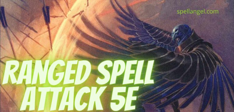 ranged spell attack 5e