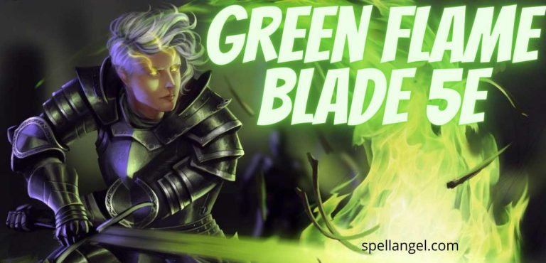 green flame blade 5e