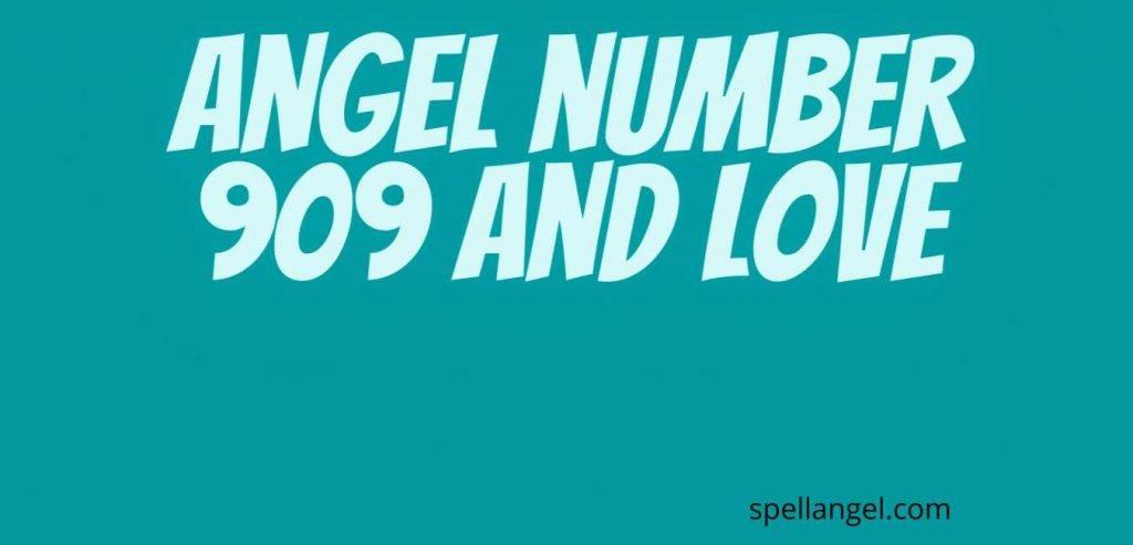 909 angel number