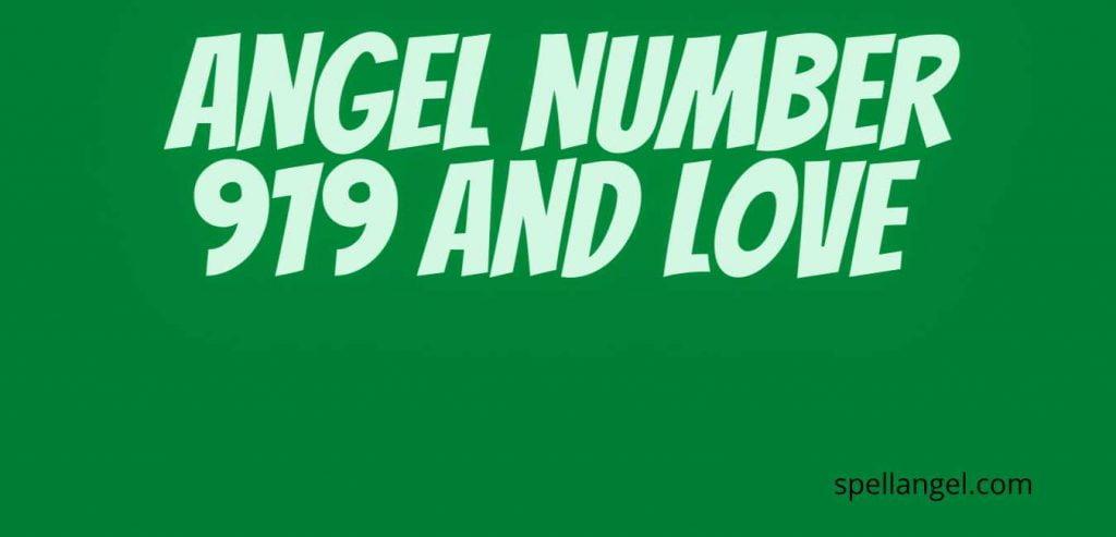 919 angel number