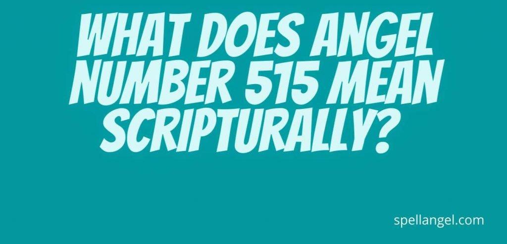 515 angel number