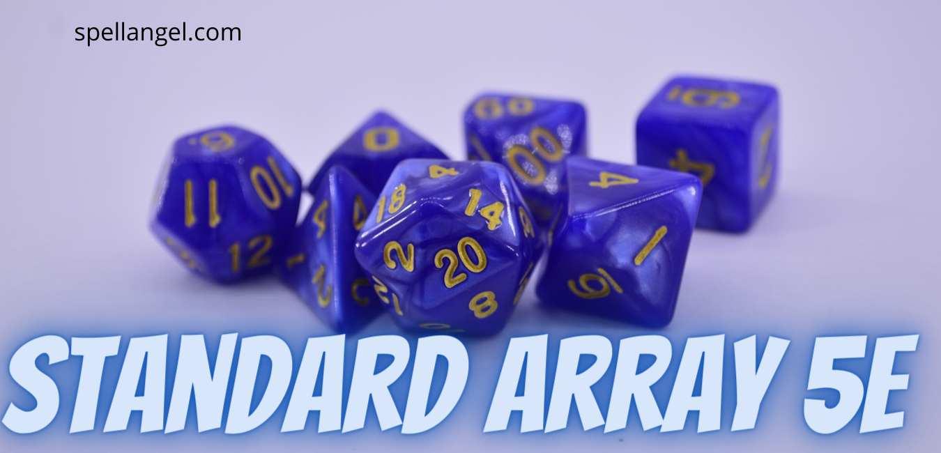 standard array 5e