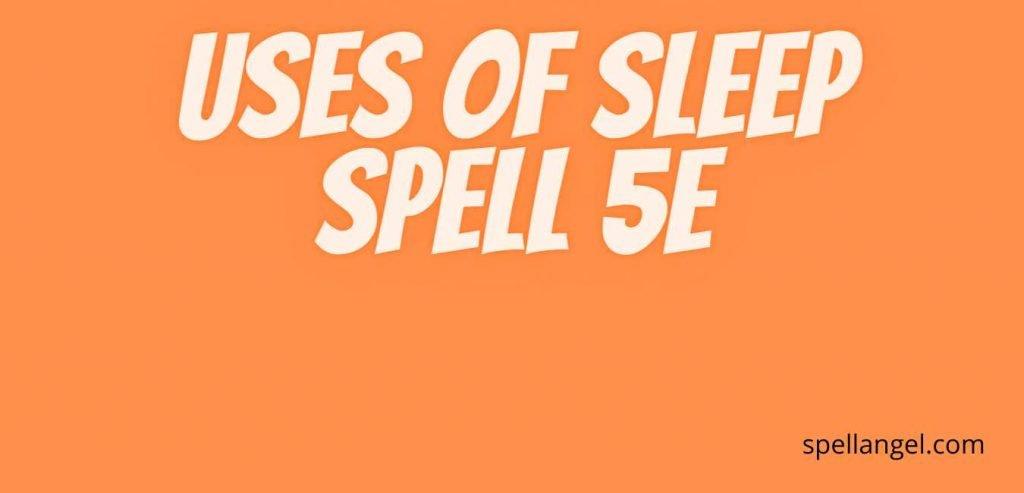 sleep 5e