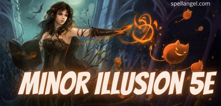minor illusion 5e